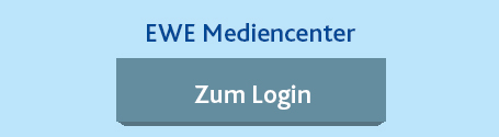Mediencenter Log-In. Ein service von EWE