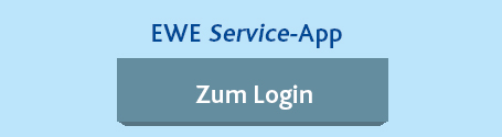 Privatkunden Log-In - Service App von EWE