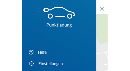 Log-in Punktladung-App